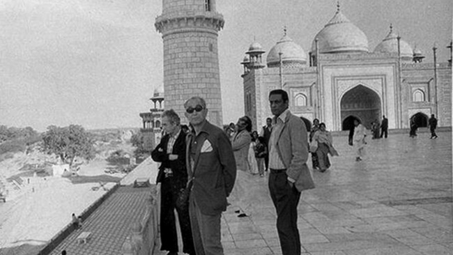A Tour Of The Taj With Satyajit Ray The Current The