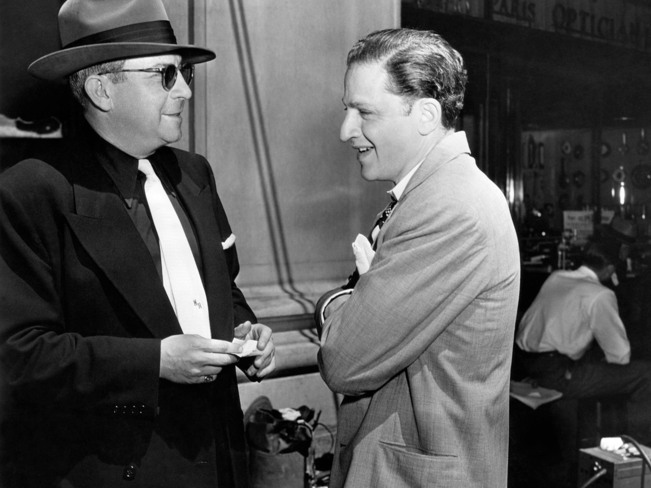 Walkers in the City: Jules Dassin and Bruce Goldstein in